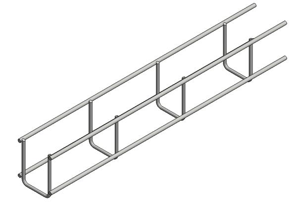 Afbeeldingen van Verz draadgoot b=50 h=60 L=3000mm