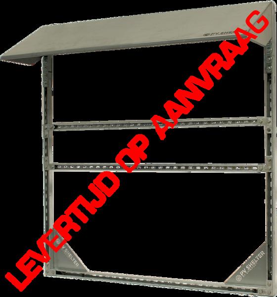 Afbeeldingen van PVshelter CORE2 wall inverter frame
