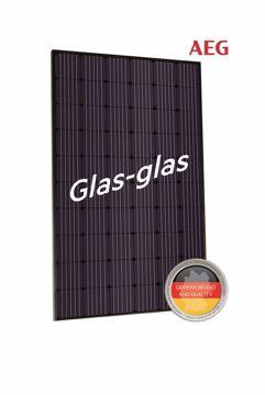 Afbeeldingen van AEG AS-M1202B-GH(G1) GLAS-GLAS 330W Mono Zwart Frame