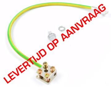 Afbeeldingen van Aardingskit 6mm kabel incl aardblok L=30cm