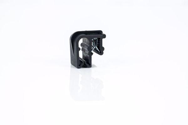 Afbeeldingen van Clip voor kabel 2x6mm excl. kabelbinder/ Zak á 100 stuks